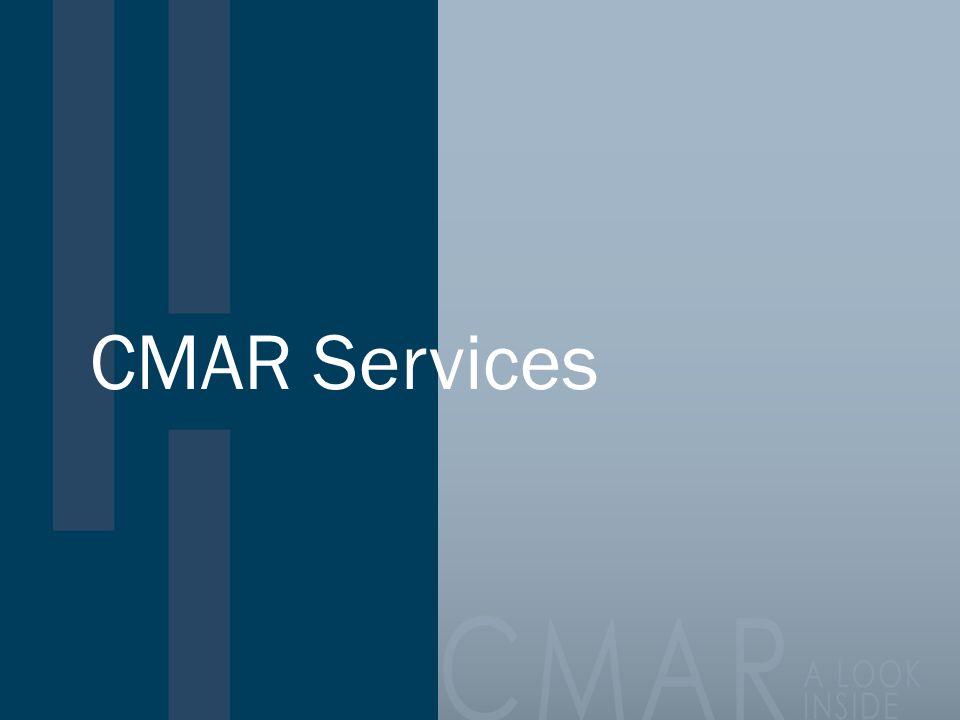 CMAR Services