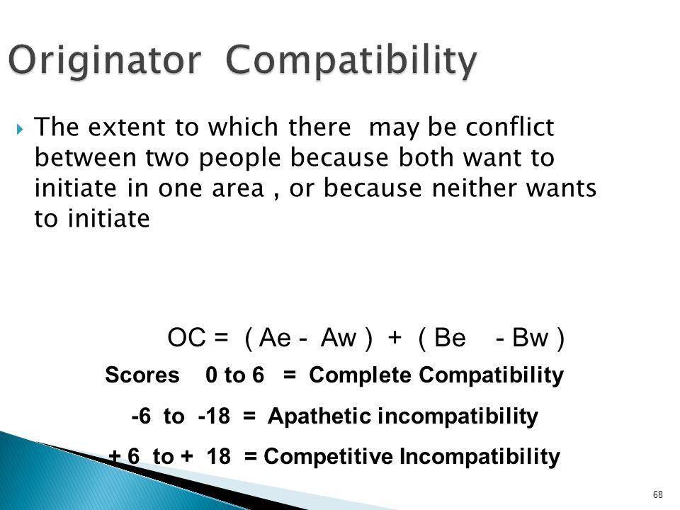 Originator Compatibility