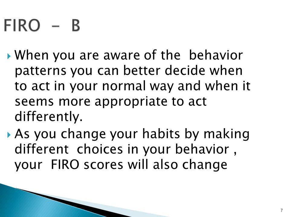 FIRO - B