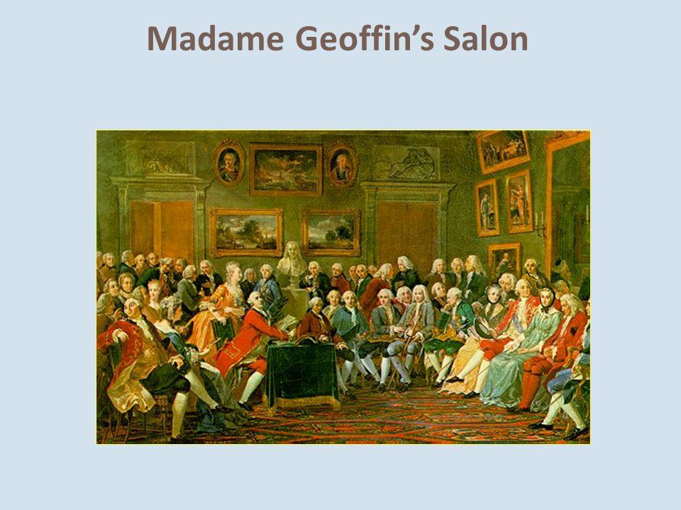 Madame Geoffin's Salon