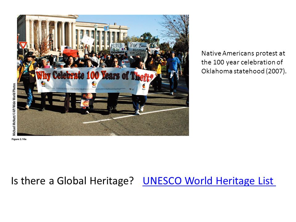 Is there a Global Heritage UNESCO World Heritage List