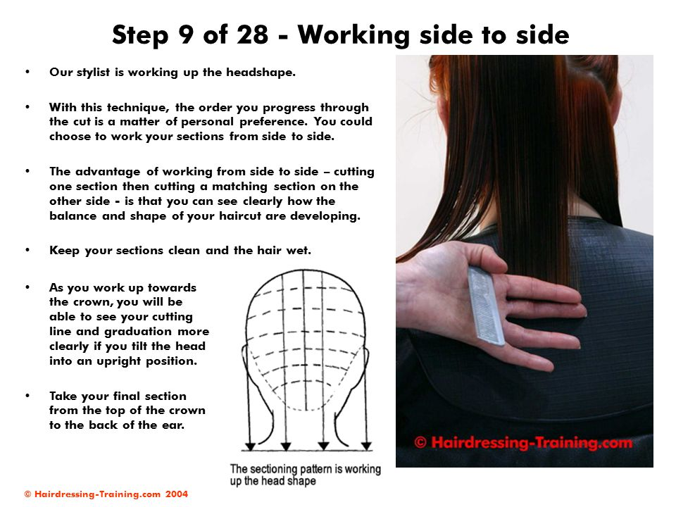 Step 9 of 28 - Working side to side