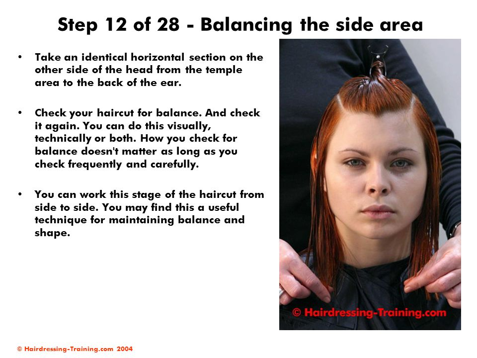 Step 12 of 28 - Balancing the side area