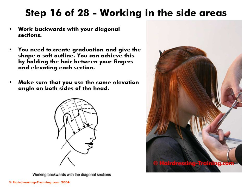 Step 16 of 28 - Working in the side areas