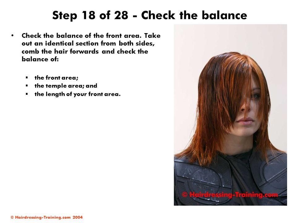 Step 18 of 28 - Check the balance
