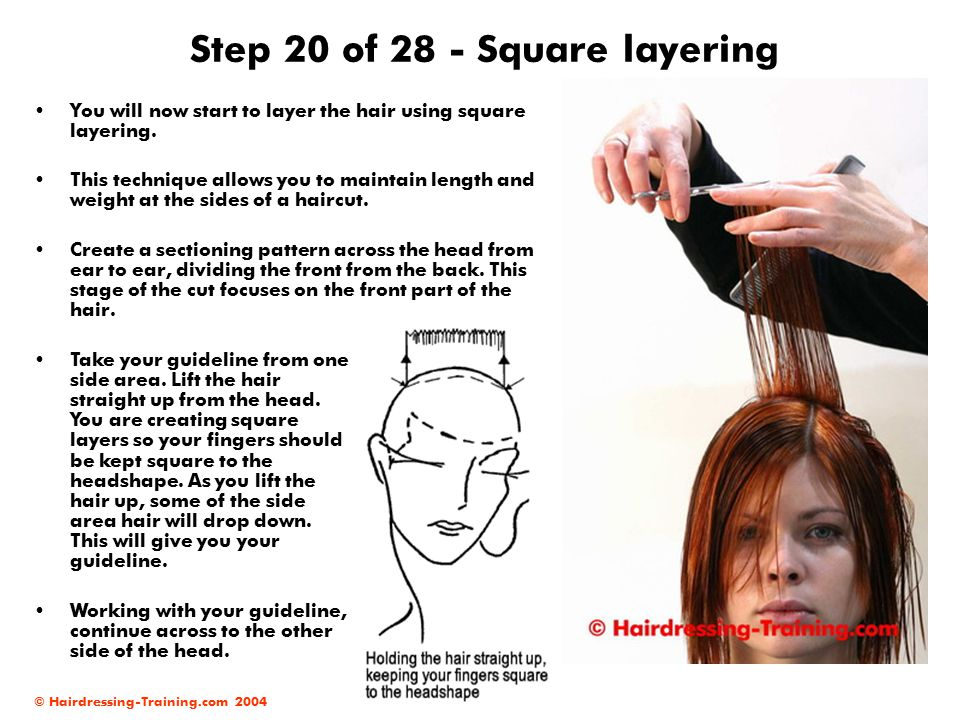 Step 20 of 28 - Square layering