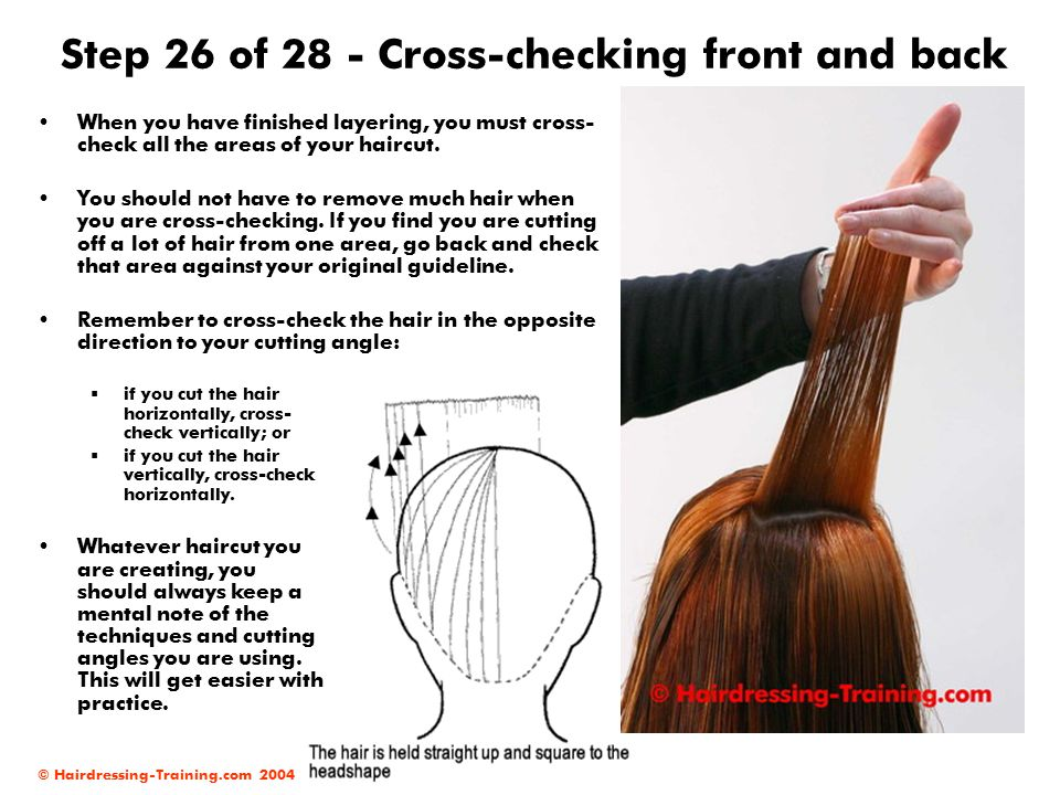 Step 26 of 28 - Cross-checking front and back