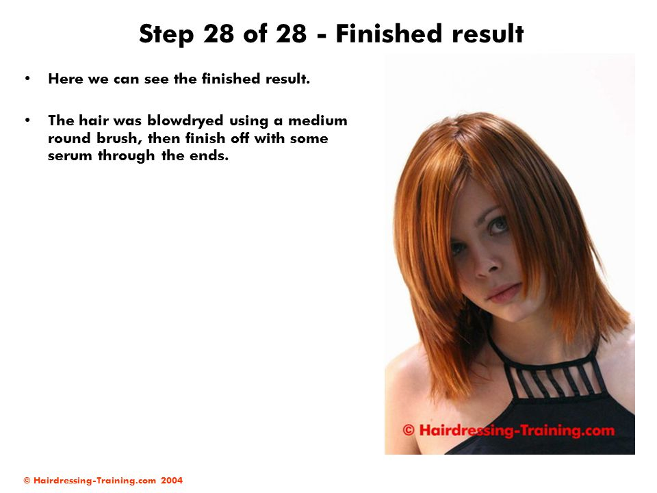 Step 28 of 28 - Finished result