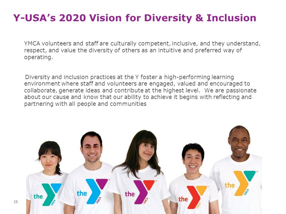 Y-USA's 2020 Vision for Diversity & Inclusion