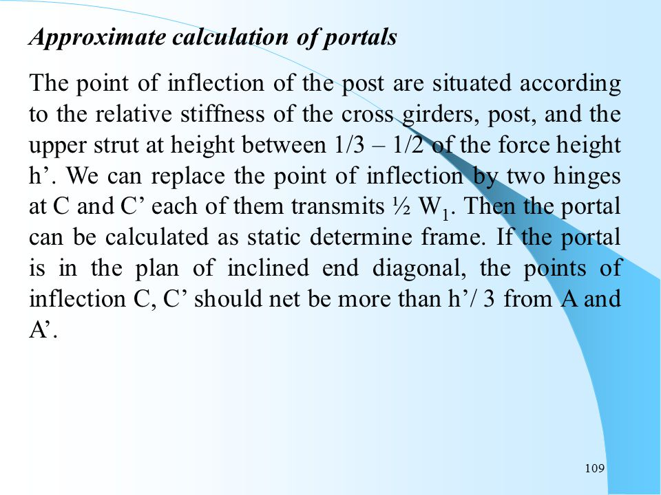 Approximate calculation of portals