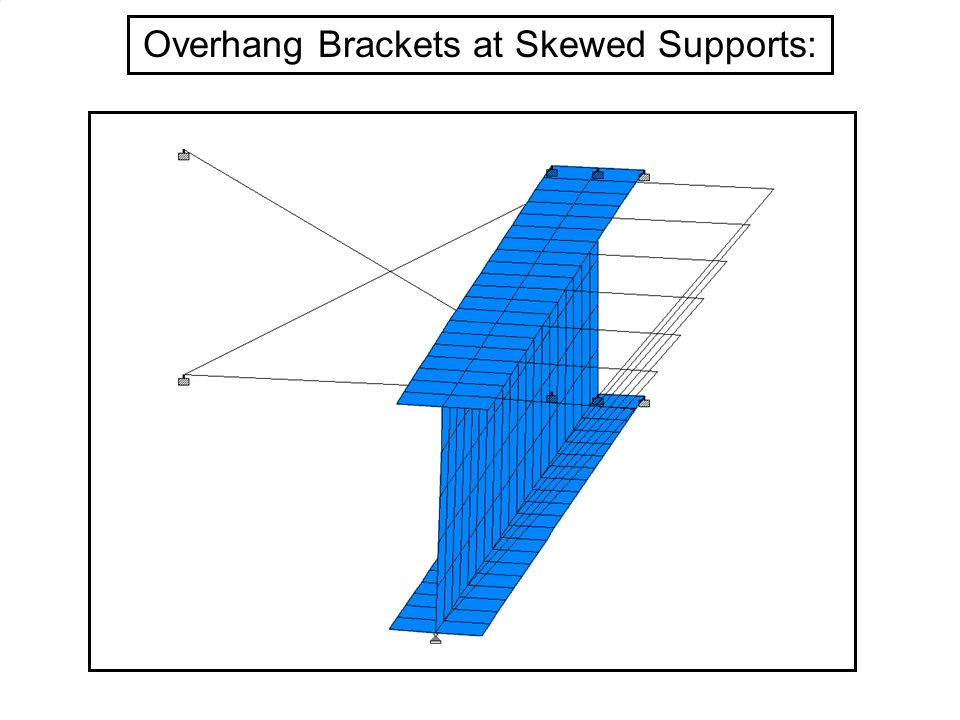 Overhang Brackets at Skewed Supports: