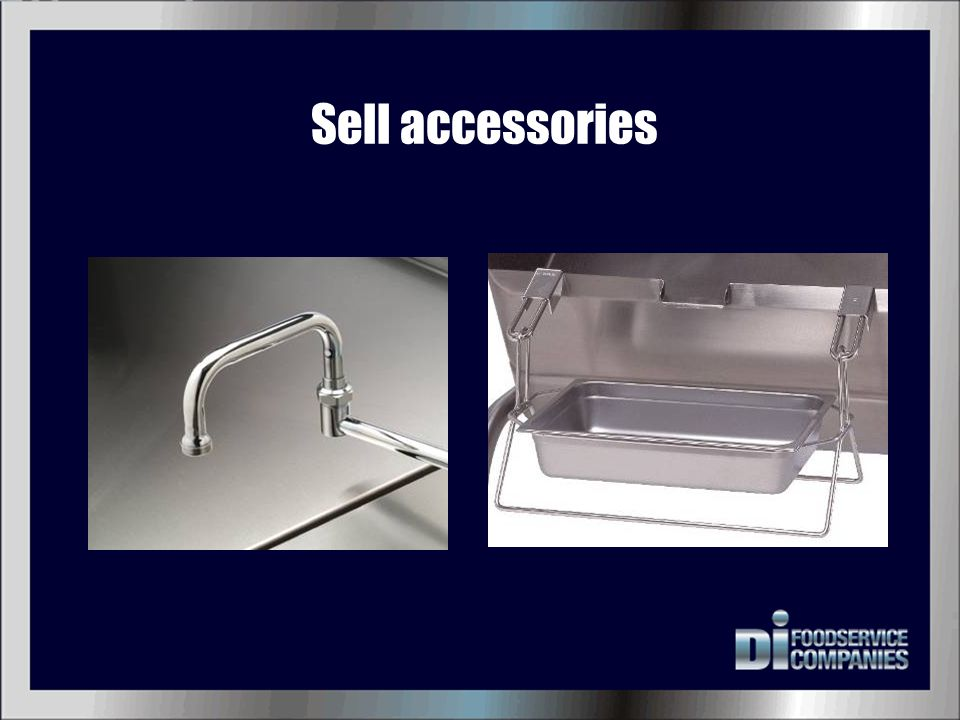 Sell accessories