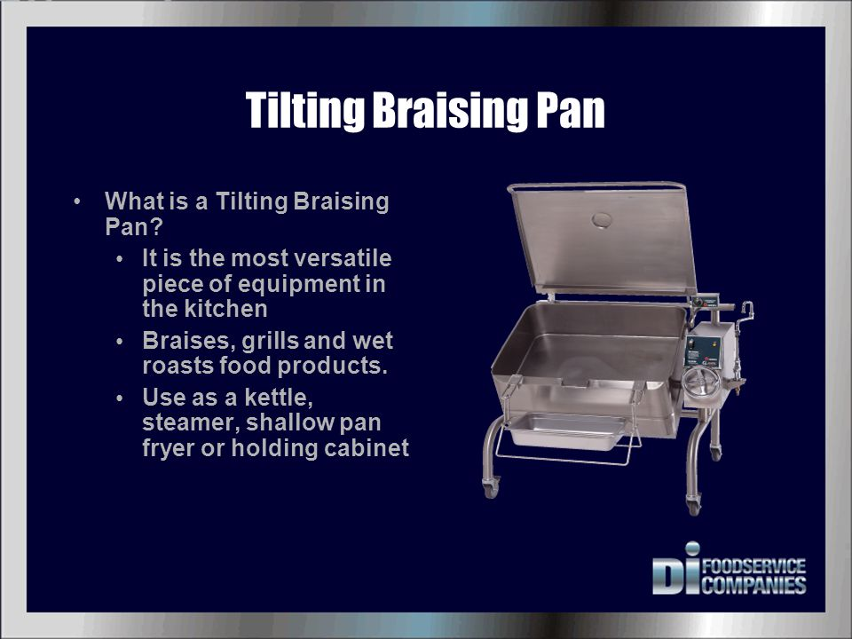 Tilting Braising Pan What is a Tilting Braising Pan