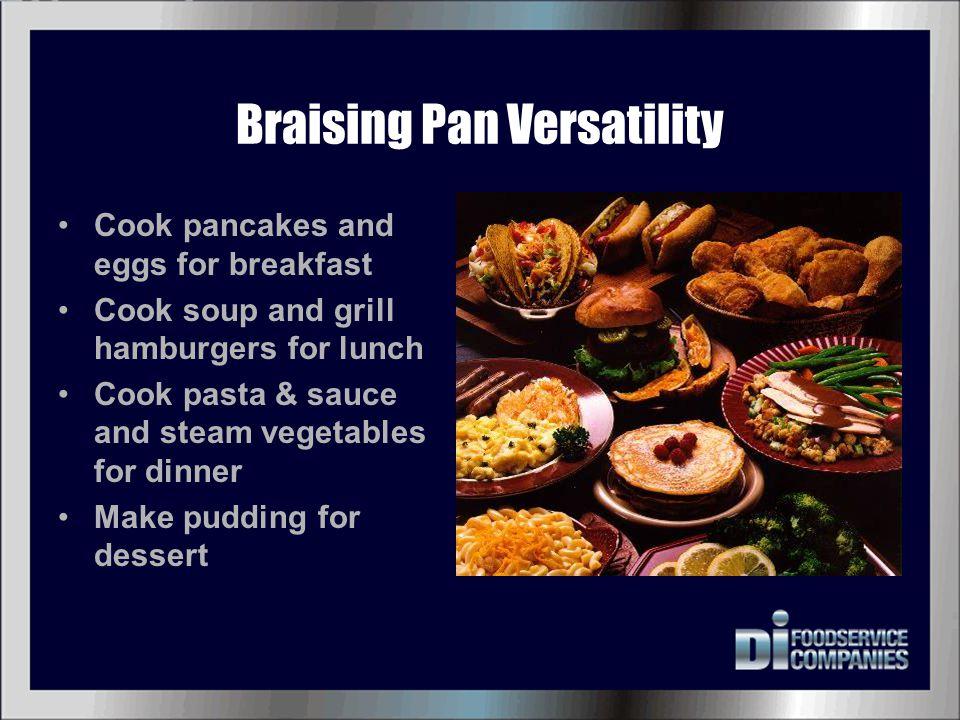 Braising Pan Versatility