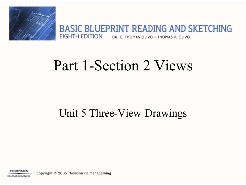 Unit 5 Three-View Drawings