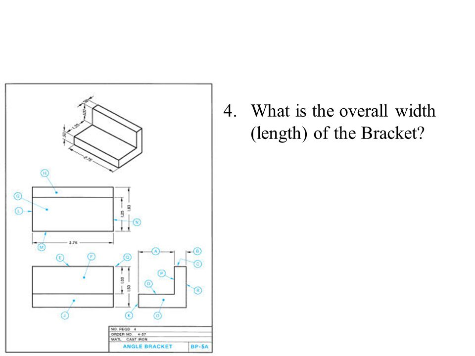 What is the overall width (length) of the Bracket