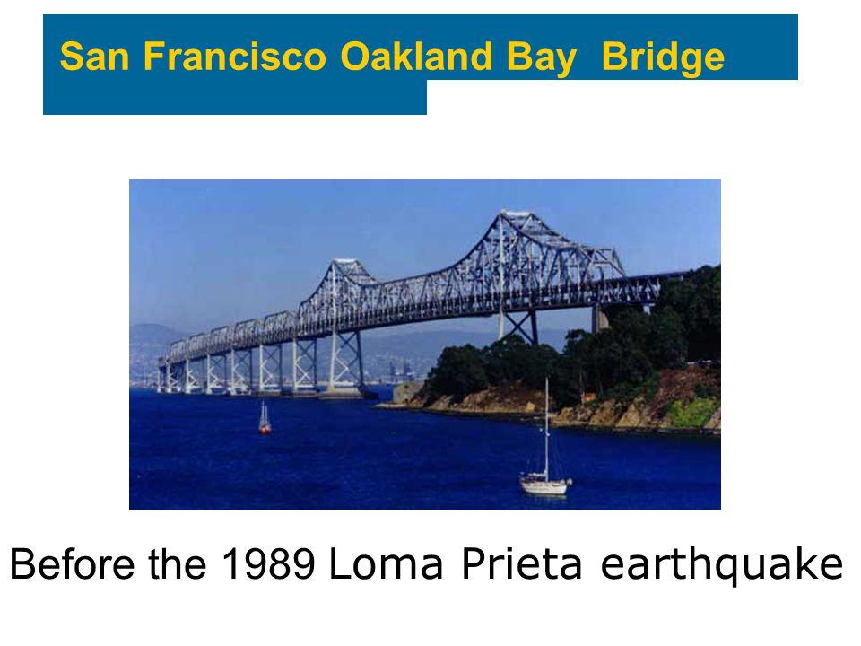 Before the 1989 Loma Prieta earthquake