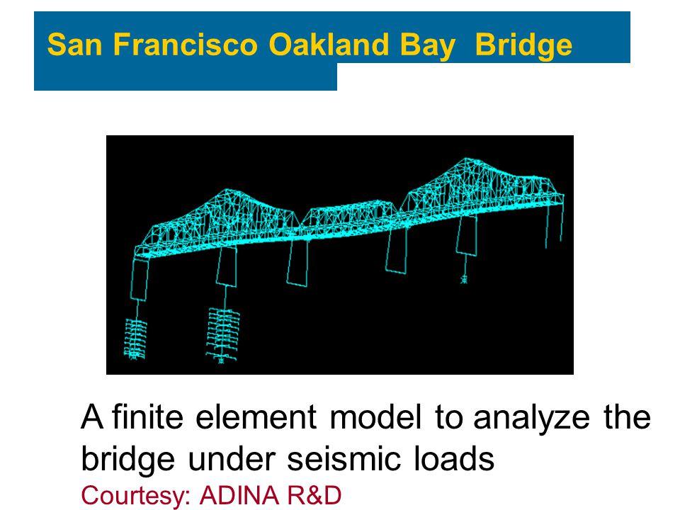 A finite element model to analyze the bridge under seismic loads
