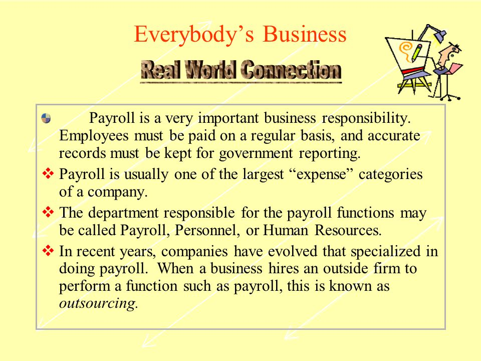 Everybody's Business Real World Connection.