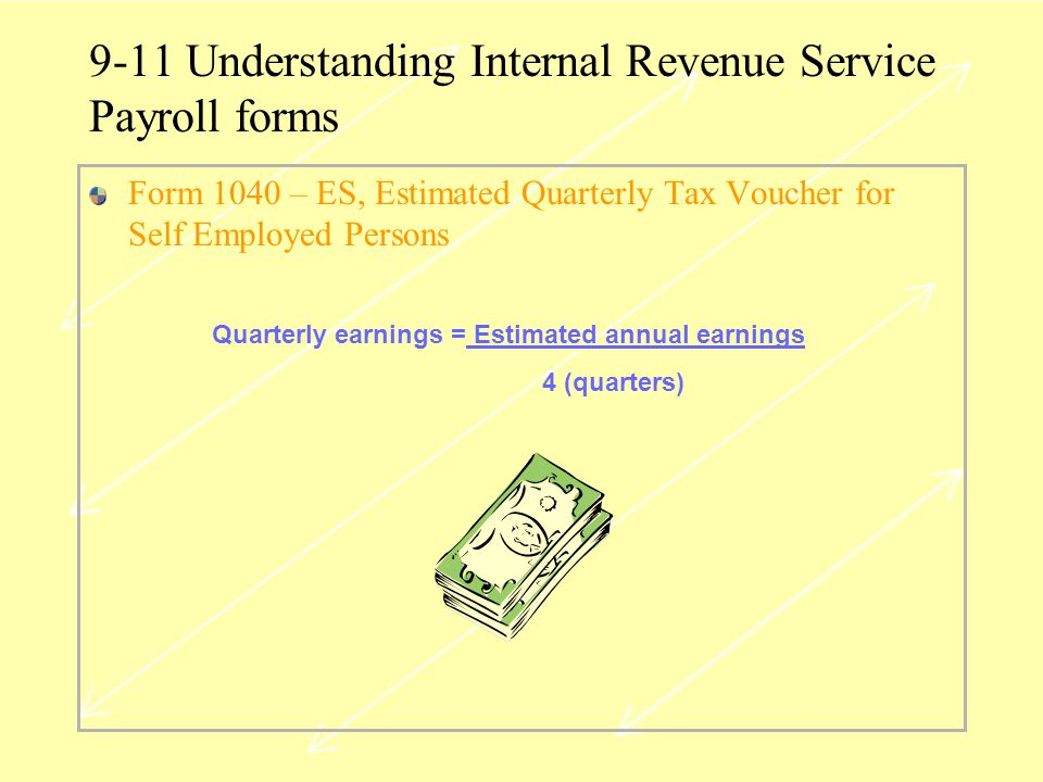 9-11 Understanding Internal Revenue Service Payroll forms