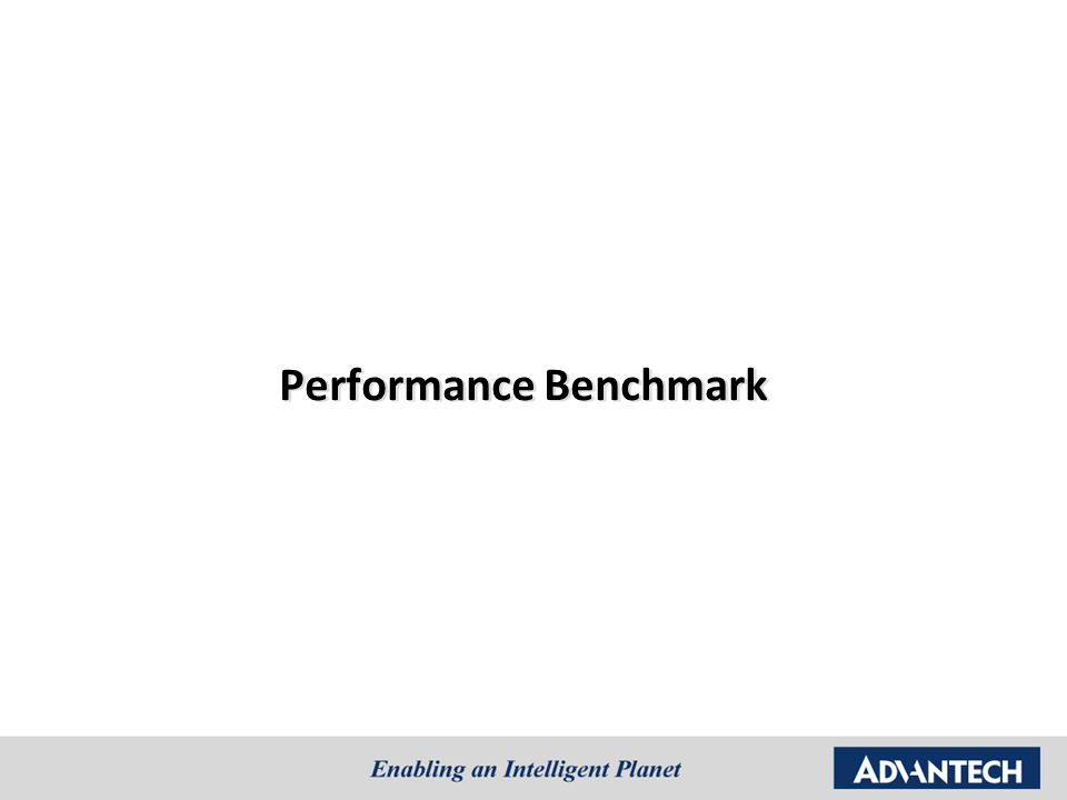 Performance Benchmark