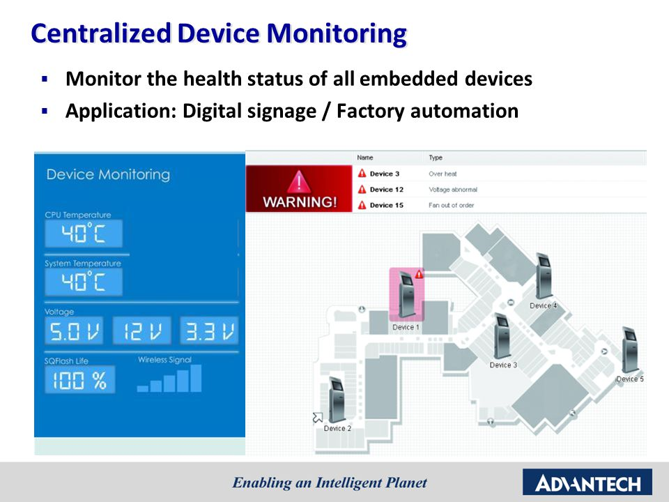 Centralized Device Monitoring
