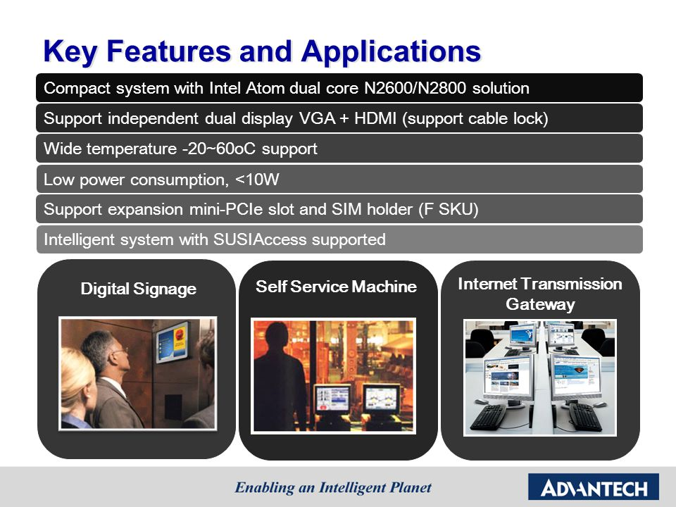 Key Features and Applications