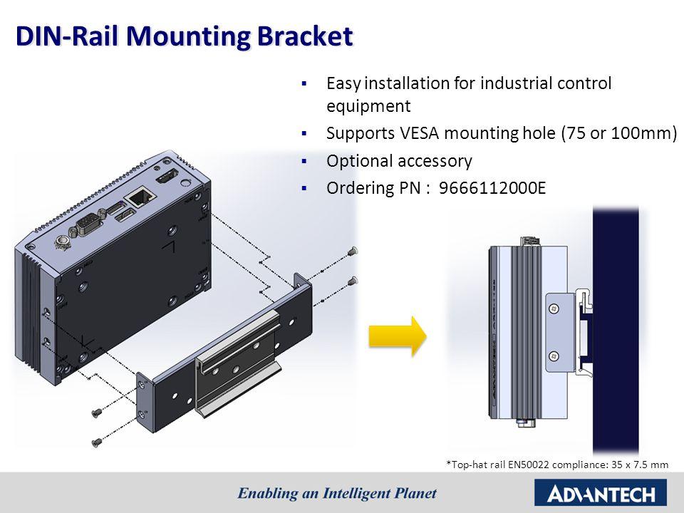 DIN-Rail Mounting Bracket