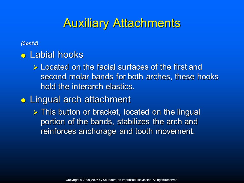 Auxiliary Attachments