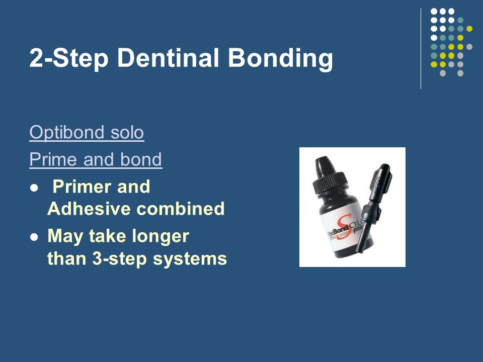 2-Step Dentinal Bonding
