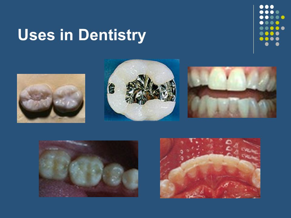 Uses in Dentistry