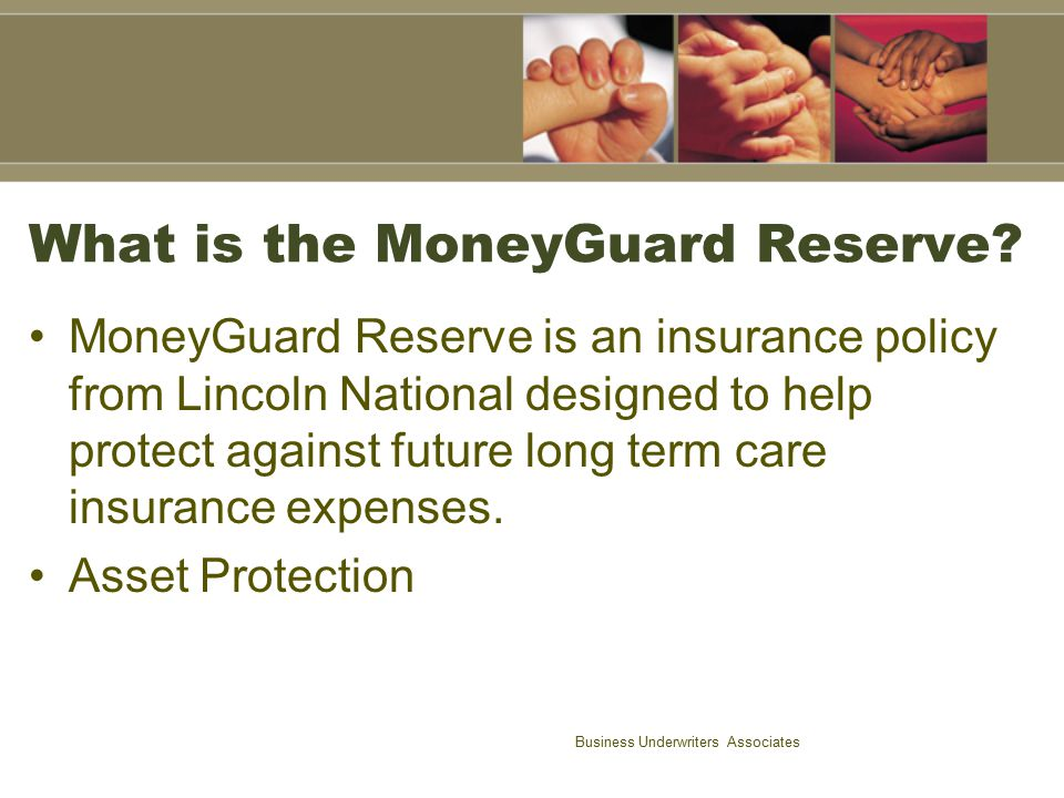 What is the MoneyGuard Reserve