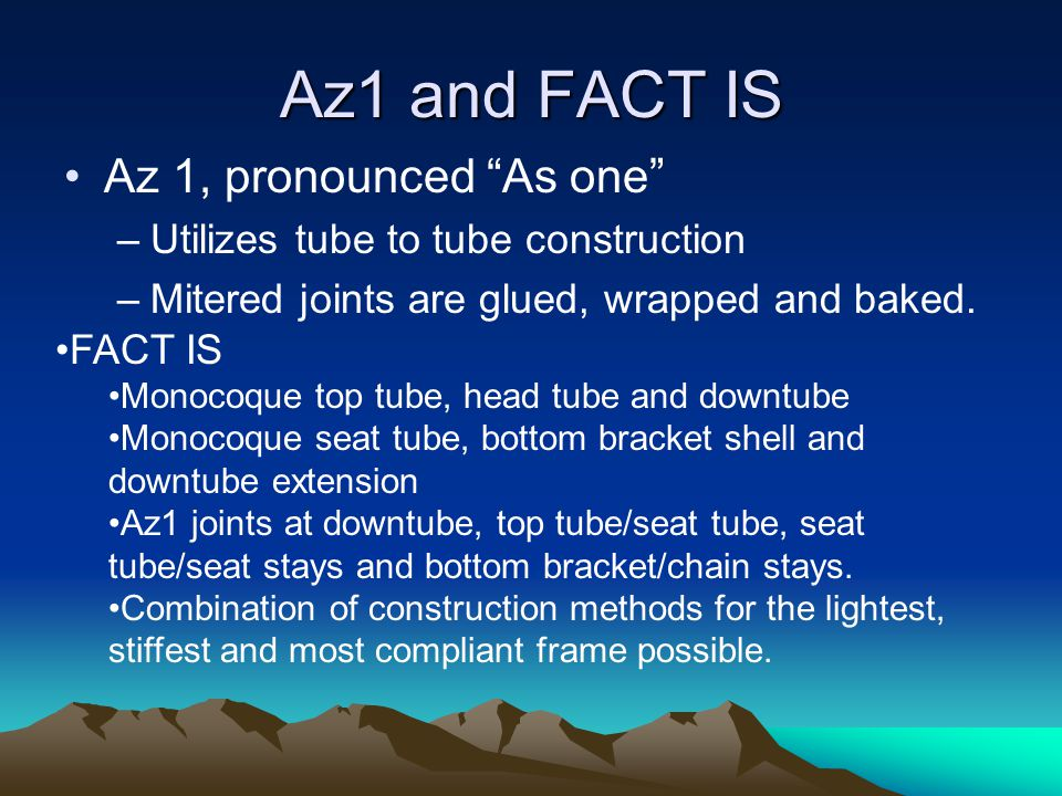 Az1 and FACT IS Az 1, pronounced As one