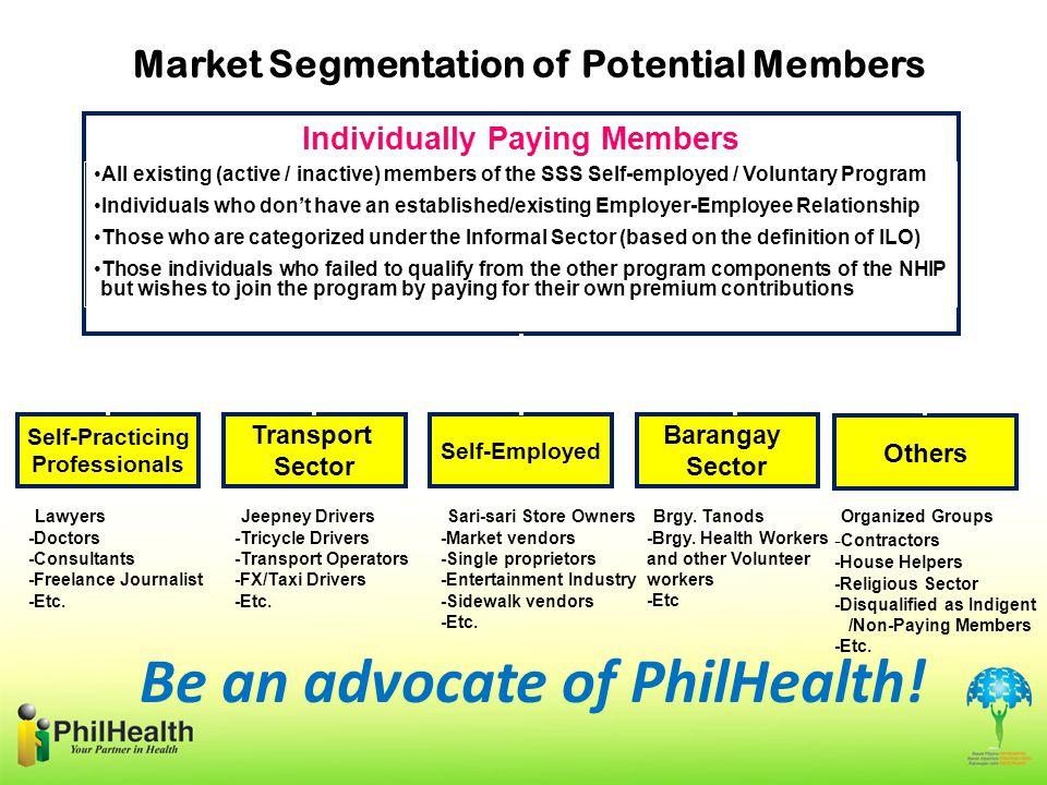 Market Segmentation of Potential Members