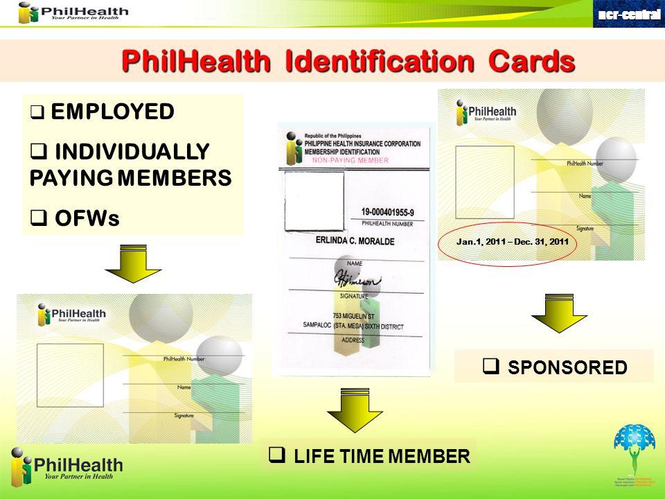 PhilHealth Identification Cards