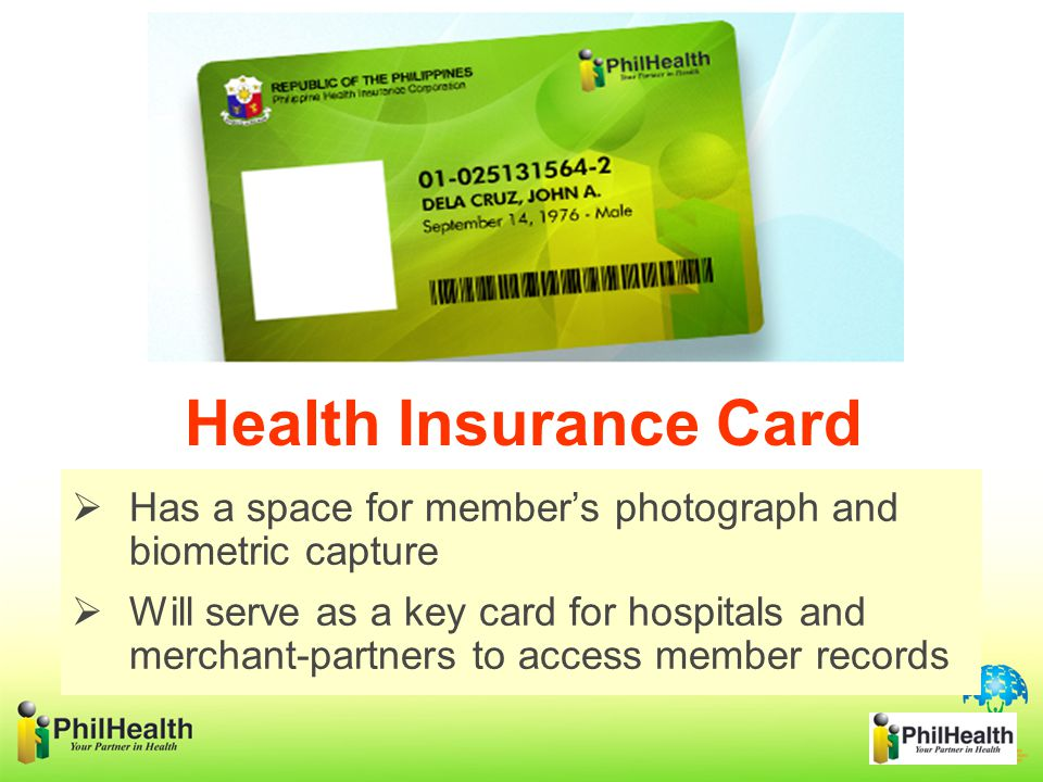 Has a space for member's photograph and biometric capture