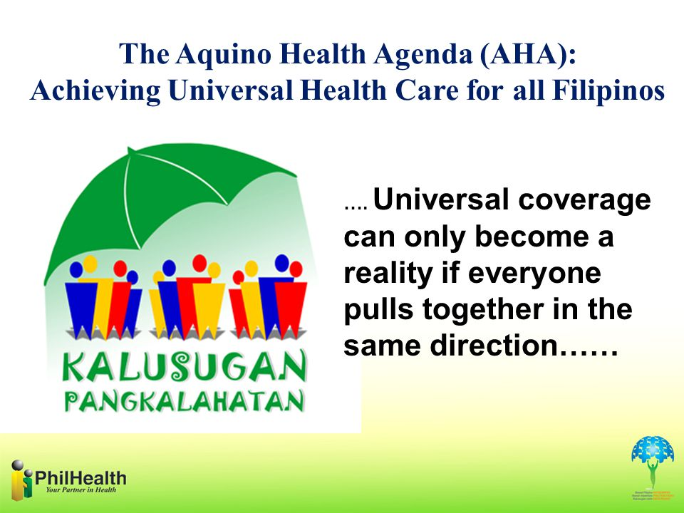 The Aquino Health Agenda (AHA):