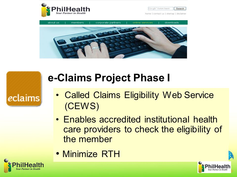 e-Claims Project Phase I