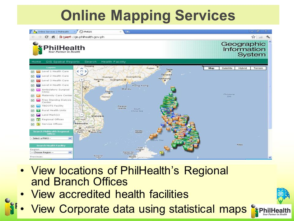 Online Mapping Services