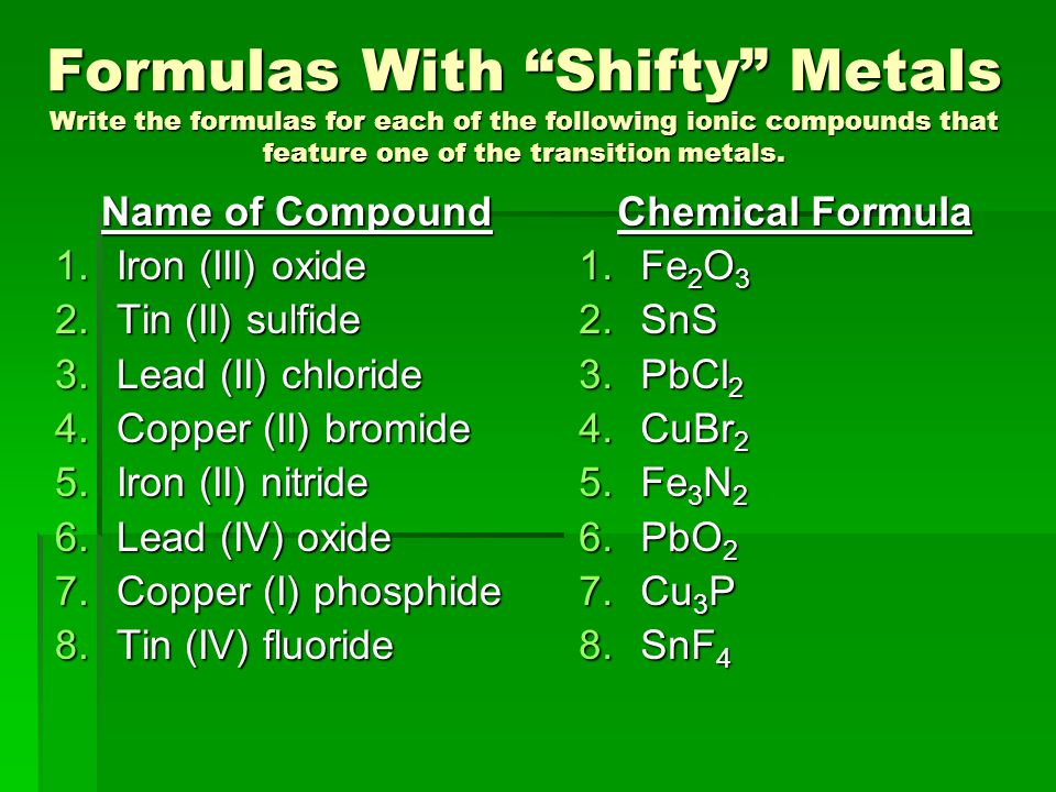 empirical formula of copper Answer to how do i find the empirical formula of copper oxide this isfrom a lab i did in class i already have the information of.
