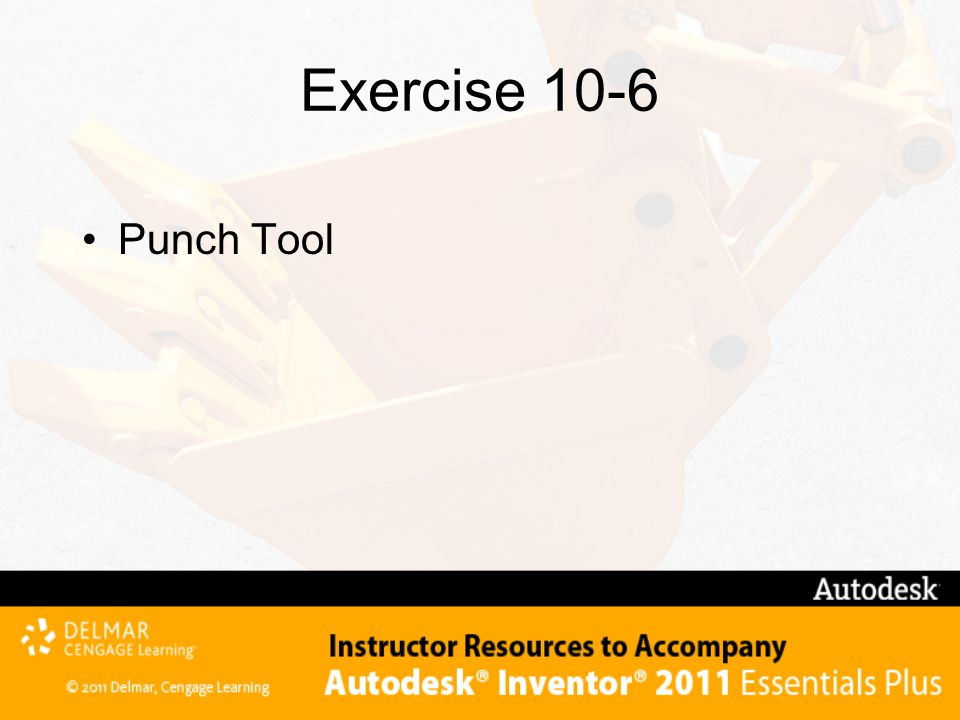Exercise 10-6 Punch Tool