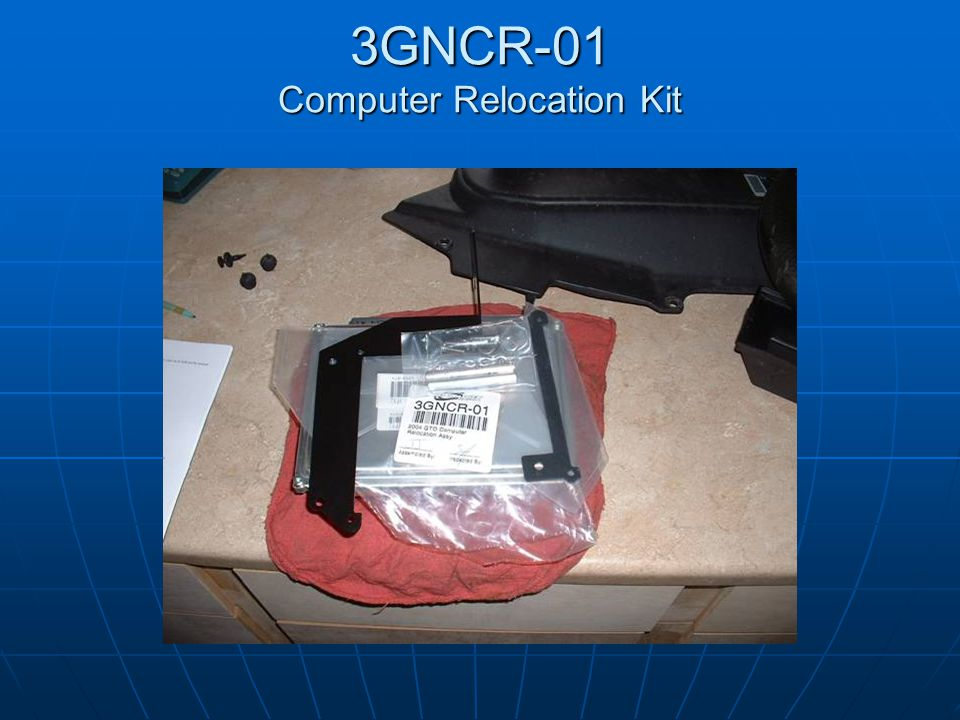 3GNCR-01 Computer Relocation Kit