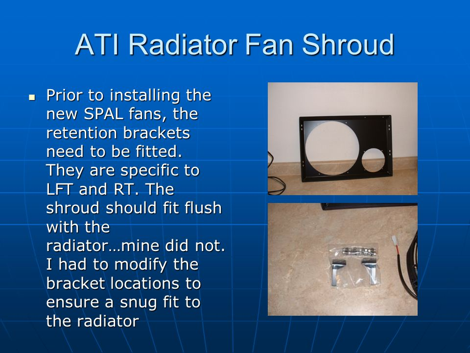 ATI Radiator Fan Shroud