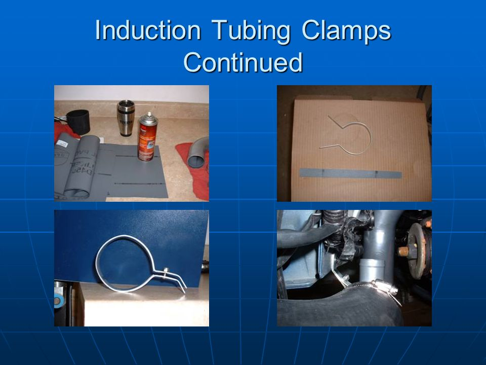 Induction Tubing Clamps Continued