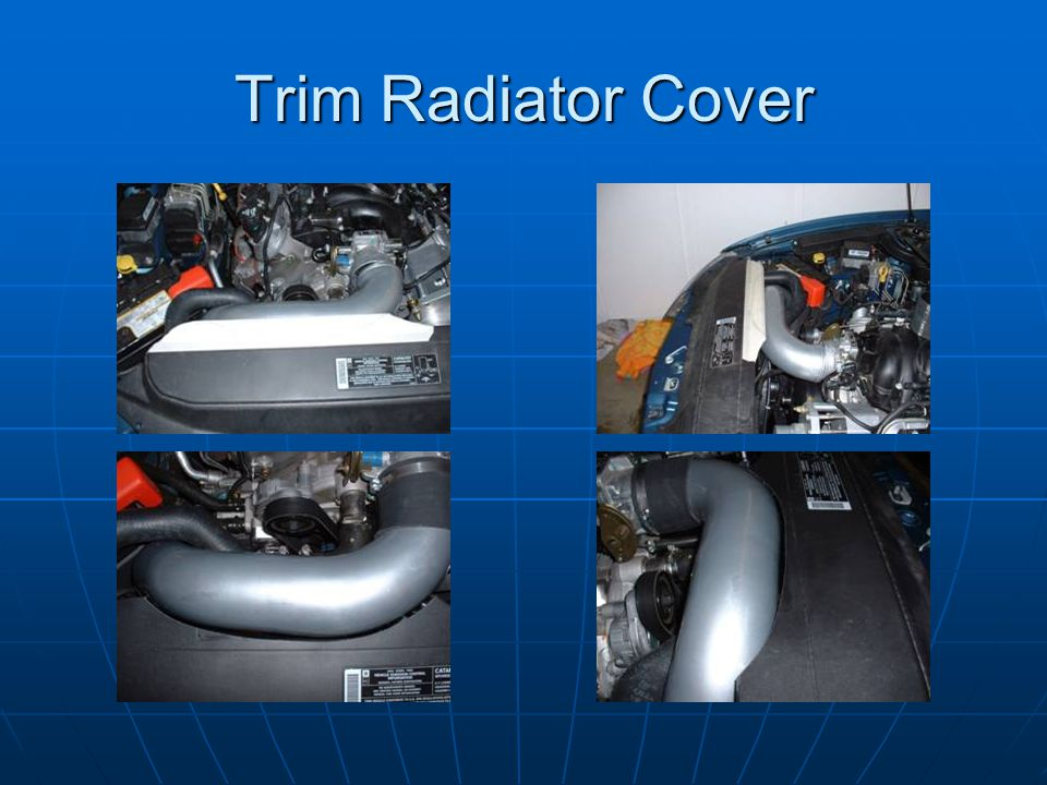 Trim Radiator Cover