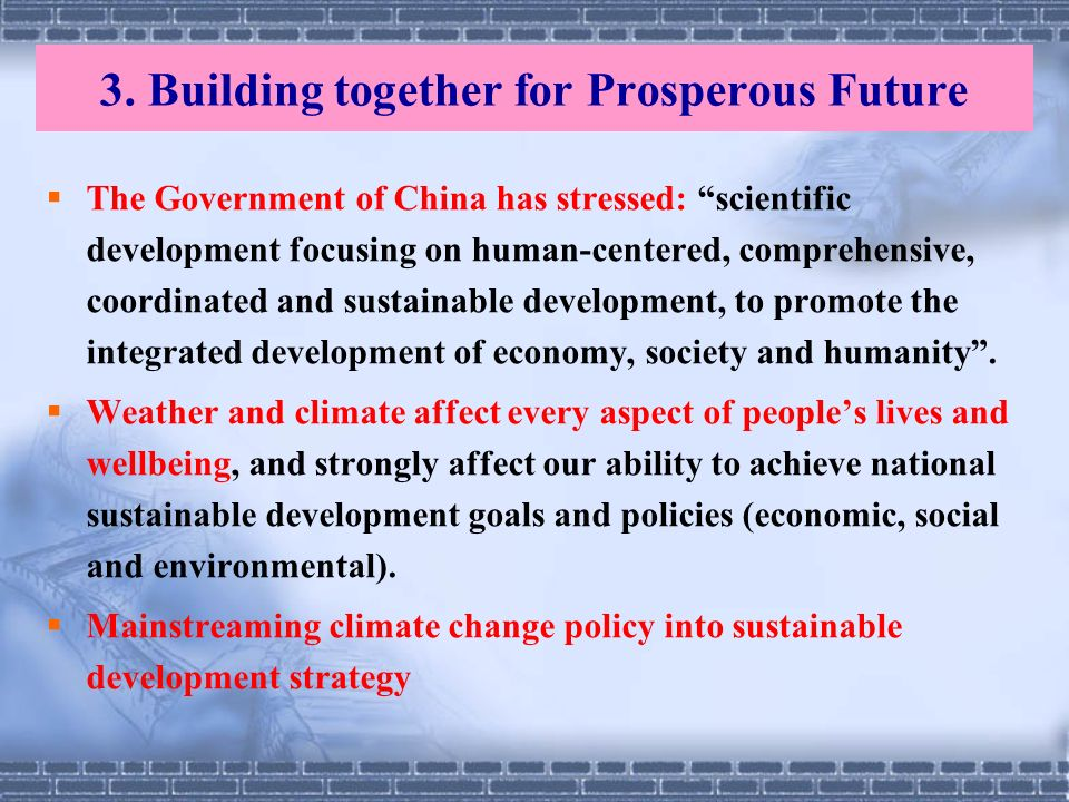 3. Building together for Prosperous Future