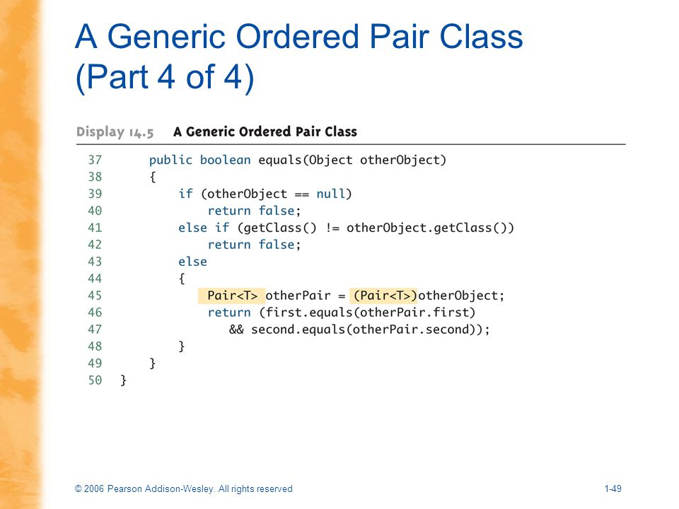 A Generic Ordered Pair Class (Part 4 of 4)