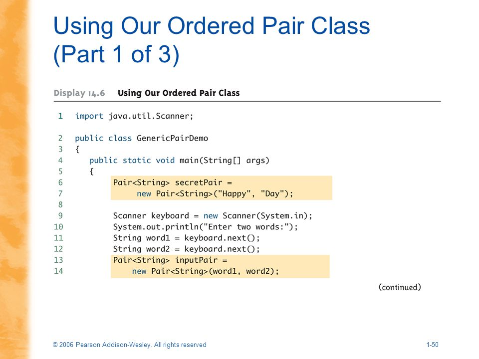 Using Our Ordered Pair Class (Part 1 of 3)