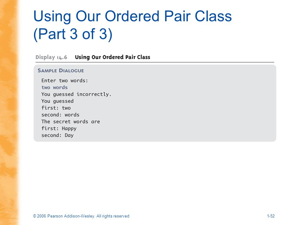 Using Our Ordered Pair Class (Part 3 of 3)