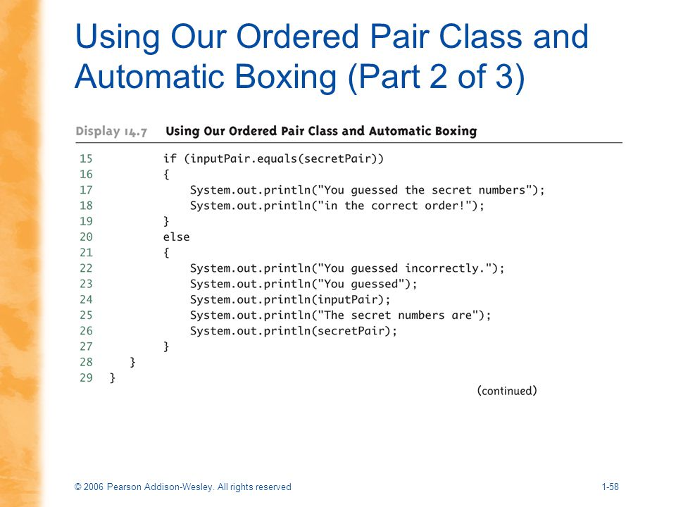 Using Our Ordered Pair Class and Automatic Boxing (Part 2 of 3)